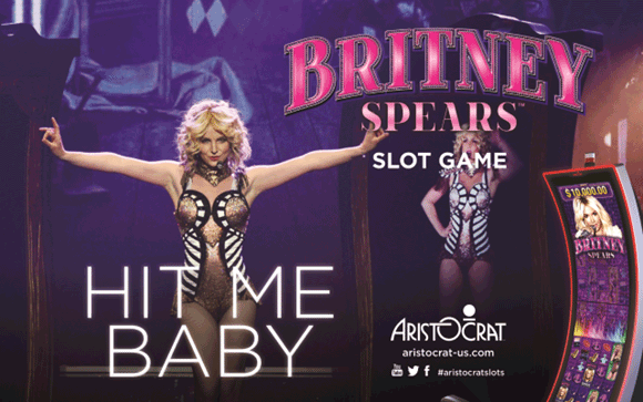 britney spears slot machine locations