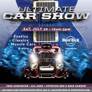Ultimate Car Show Hard Rock Casino Vancouver
